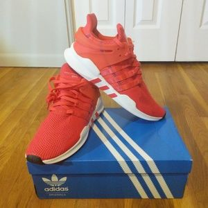 Adidas EQT Mens CQ3004 Real Coral NWT